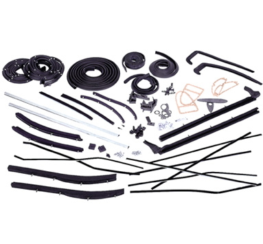 60 Cadillac Convertible Top Weatherstrip Kit